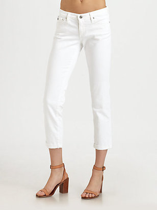 AG Adriano Goldschmied Stilt Roll-Up Jeans