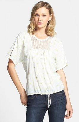 Vince Camuto Two by Drawstring Hem Blouse