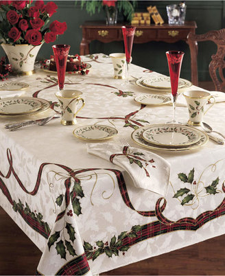 "Lenox Closeout! Holiday Nouveau 60"" x 120"" Tablecloth"