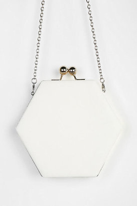 Urban Outfitters Cooperative Geo Macaroon Crossbody Clutch