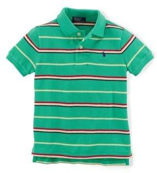 Ralph Lauren Boys 2-7 Cotton Mesh Polo Shirt