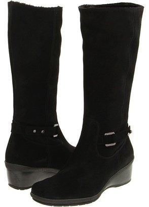 Aquatalia by Marvin K May Suede (Black Suede) - Footwear