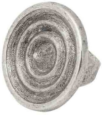 Low Luv x Erin Wasson Women's Ripple Ring - Silver