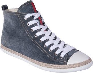 Prada Espadrille Hightop Sneaker