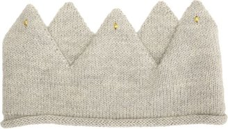 Oeuf Knit Wild Things Crown-Grey