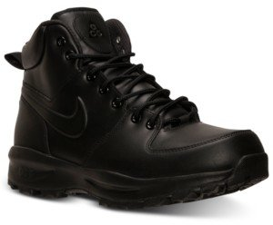 Nike Men's Manoa Leather Boots from Finish Line