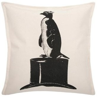 Thomas Paul Luddite Penguin Hat 18 Pillow