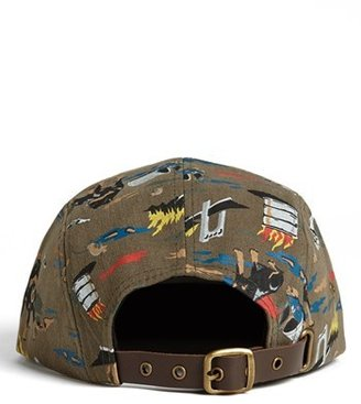 Obey 'City Hunting' Five Panel Cap