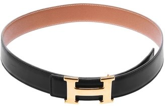 Hermes Vintage reversible belt
