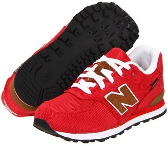New Balance KL574 (Toddler/Youth) (Red) - Footwear