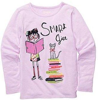 Osh Kosh Long-Sleeve Smart Girl Tee - Girls 4-6x
