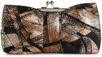 Townsend Lulu Multicolor Sequin Bow Frame Clutch