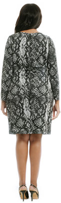 Kay Unger Play In Python Dress