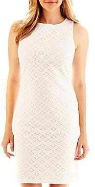Liz Claiborne Sleeveless Lace Dress