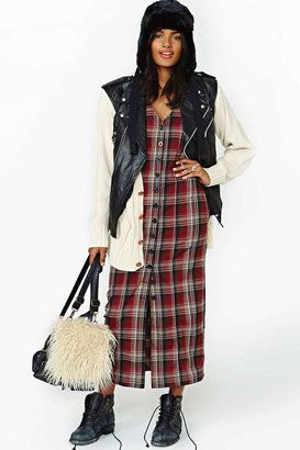 Nasty Gal UNIF Nevermind Maxi Dress
