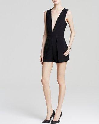 Lucy Paris Romper - Deep V $78 thestylecure.com