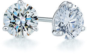 Kwiat Women's 1.50Ct Tw Diamond & Platinum Stud Earrings