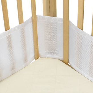 BreathableBaby Breathable Bumper for Portable Cribs and Cradles - White