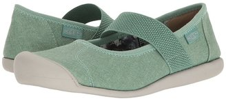 Keen - Sienna MJ Canvas Women's Flat Shoes $90 thestylecure.com