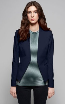 Theory Lanai Stretch Canvas Modern Blazer