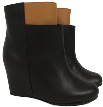 Maison Martin Margiela Two-Tone Ankle Boots
