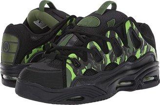 Osiris D3 2001 (Black/Black/Black) Men's Skate Shoes