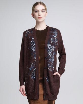 Jean Paul Gaultier Koi-Knit Cardigan