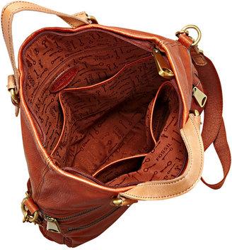 Fossil Handbag, Explorer Leather Tote