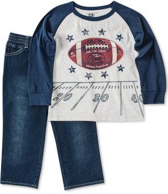 Kids Headquarters Baby Boys' 2-Piece Shirt & Pants Set