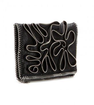 Stella McCartney Falabella zipper-embellished clutch