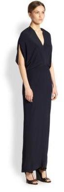 Zero Maria Cornejo Reni Silk Maxi Dress