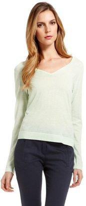 HUGO BOSS 'Sweater'   Wool-Blend V-Neck Knit by BOSS