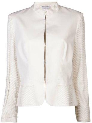 Givenchy Vintage net overlay blazer
