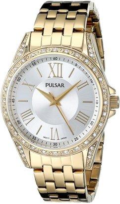 Pulsar Women's PG2006 Analog Display Japanese Quartz Gold Watch