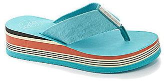 BCBGeneration Franx Wedge Flip-Flop Sandals