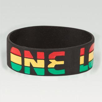 One Love Rubber Bracelet