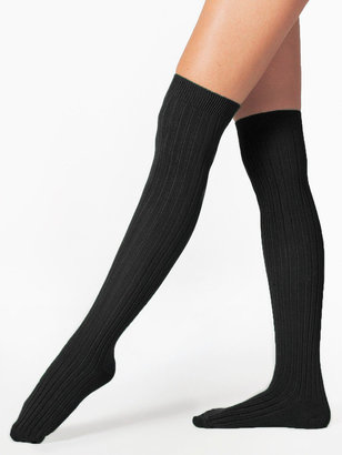 American Apparel Ribbed Modal Over-the-Knee Sock