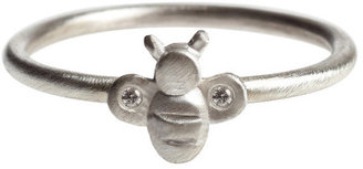 Michelle Chang Jewelry Bee Diamond Ring Sterling
