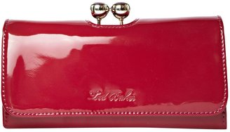 Ted Baker Anitah pat flapover continental purse
