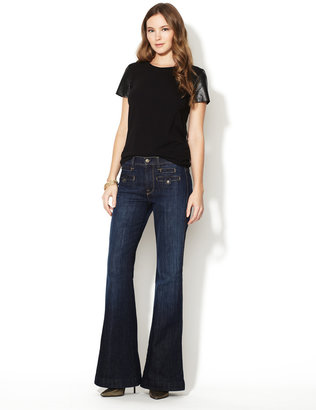 7 For All Mankind Savannah Flared Jean
