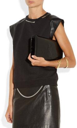 Saint Laurent The Belle de Jour patent-leather clutch