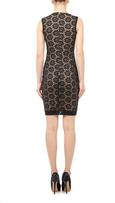 Nicole Miller Felicity Daisy Lace Dress