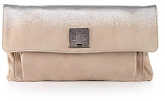 Marc Jacobs Collection Geometric Suede Pochette