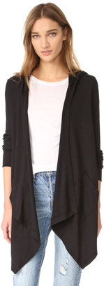 Splendid Thermal Cardigan with Hood $98 thestylecure.com