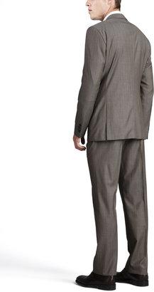 HUGO BOSS James/Sharp Two-Piece Suit, Tan
