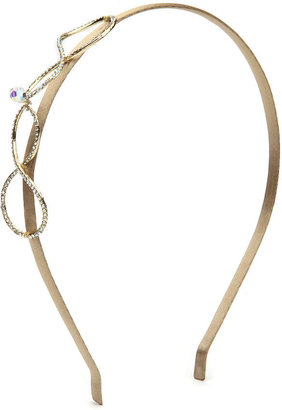 Jane Tran Infinity Headband, Gold