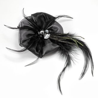 Candies Candie's® feather rhinestone hair clip & pin
