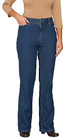 Liz Claiborne New York Regular Jackie Boot Cut 5-Pocket Jeans $27.72 thestylecure.com