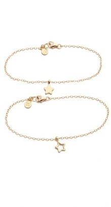 Gorjana Friendship Star Bracelet Set