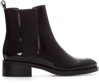 Zara Flat Chelsea Boot